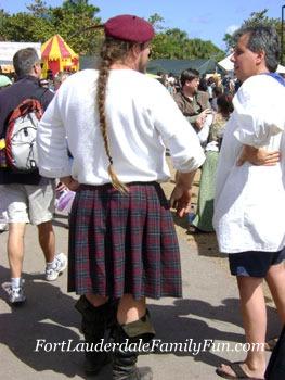 Renaissance Festival Scotsman