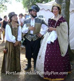 Renaissance Festival Performers
