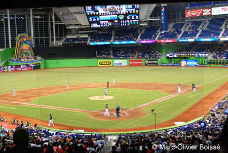 Marlins Park Beauty And Baseball
