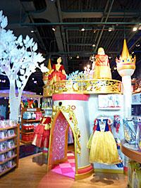 Disney Store castle